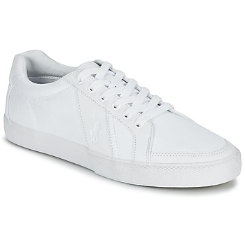Shoes Men Low top trainers Ralph Lauren HUGH White