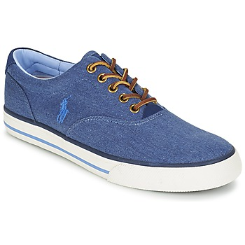 Shoes Men Low top trainers Ralph Lauren VAUGHN Blue