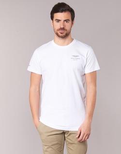 material Men short-sleeved t-shirts Hackett VEZINO White