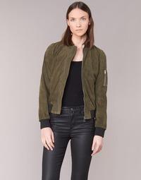 material Women Leather jackets / Imitation leather Redskins NAAS KAKI