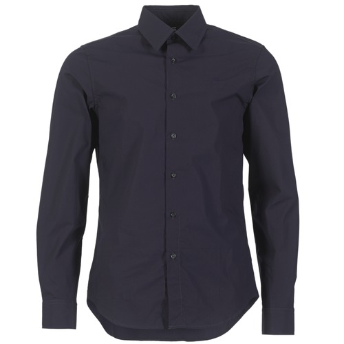 material Men long-sleeved shirts G-Star Raw CORE SHIRT Marine
