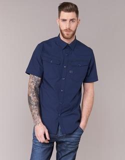 material Men short-sleeved shirts G-Star Raw 3301 SHIRT Marine