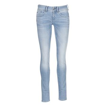 material Women Skinny jeans G-Star Raw LYNN MID SKINNY Blue / Clear