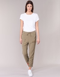 material Women Wide leg / Harem trousers G-Star Raw POWEL UTILITY 3D SPORT BEIGE