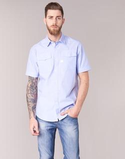 material Men short-sleeved shirts G-Star Raw LANDOH Blue