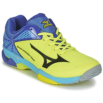 Shoes Men Tennis shoes Mizuno WAVE EXCEED TOUR 2 CC Yellow / Black