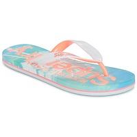 Shoes Women Flip flops Superdry SUPERDRY AOP FLIP FLOP Pink