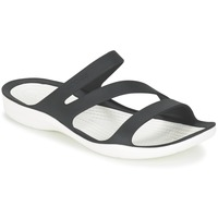 Shoes Women Sandals Crocs SWIFTWATER SANDAL W Black / White