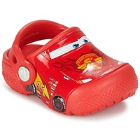 Shoes Boy Clogs Crocs Crocs Funlab Light CARS 3 Movie Clog Red