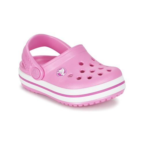 Shoes Girl Clogs Crocs Crocband Clog Kids Pink