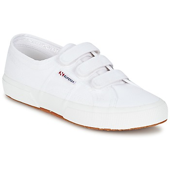 Shoes Women Low top trainers Superga 2750 COT3 VEL U White
