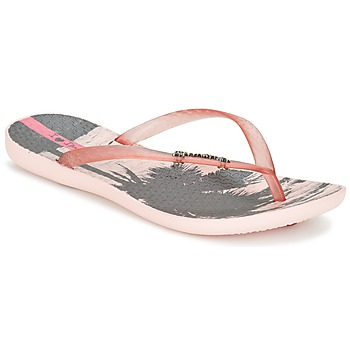 Shoes Women Flip flops Ipanema WAVE TROPICAL Pink
