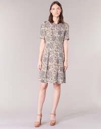 material Women Short Dresses Marc O'Polo GERDAZIL Grey / Nude