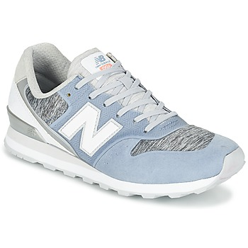 Shoes Women Low top trainers New Balance WR996 Blue / White / Grey