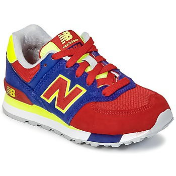 Shoes Children Low top trainers New Balance KL574 Blue / Red / Yellow