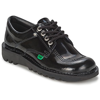 Shoes Women Brogue shoes Kickers KICK LO Black