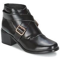 Shoes Women Ankle boots F-Troupe Double Buckle Boot  black