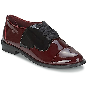 Shoes Women Derby shoes F-Troupe Butterfly Shoe Burgundy