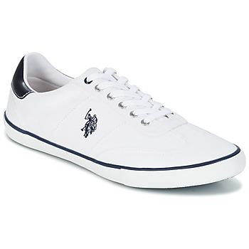 Shoes Men Low top trainers U.S Polo Assn. RAY White