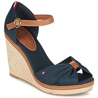 Shoes Women Sandals Tommy Hilfiger ELENA 56D Marine / Brown