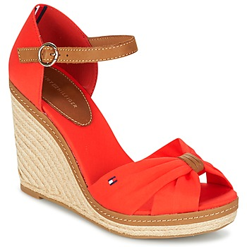 Shoes Women Sandals Tommy Hilfiger ELENA 56D CORAL / Brown