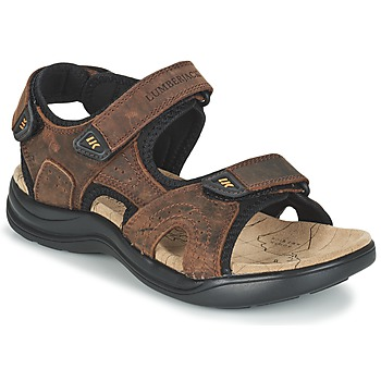 Shoes Men Sports sandals Lumberjack EARTH Brown
