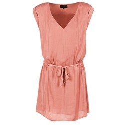 material Women Short Dresses Kaporal FLY Pink