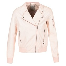 material Women Leather jackets / Imitation leather Kaporal ALARE Nude