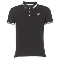 material Men short-sleeved polo shirts Kaporal BASOC Black
