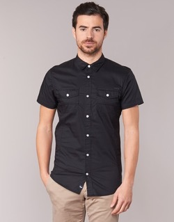 material Men short-sleeved shirts Kaporal RAC Black