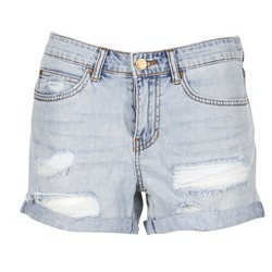 material Women Shorts / Bermudas Billabong FRANKIE Denim