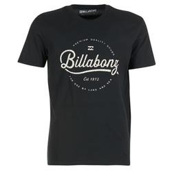 material Men short-sleeved t-shirts Billabong OUTFIELD TEE SS Black