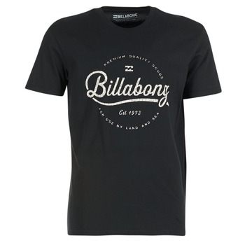 material Men short-sleeved t-shirts Billabong OUTFIELD TEE SS Black