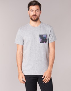 material Men short-sleeved t-shirts Billabong TRANSMIT TEE Grey