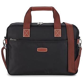 Bags Women Briefcases Hexagona WEEK-END PORTE DOCUMENT Black