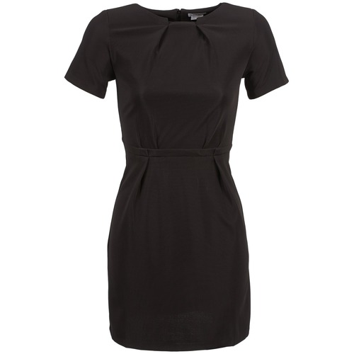 material Women Short Dresses Kling BACON Black