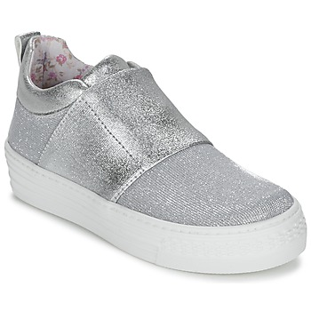 Shoes Girl Slip ons Primigi STARLET Silver
