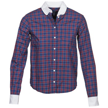 material Women Shirts Gant STONEHAVEN MARINE / Red