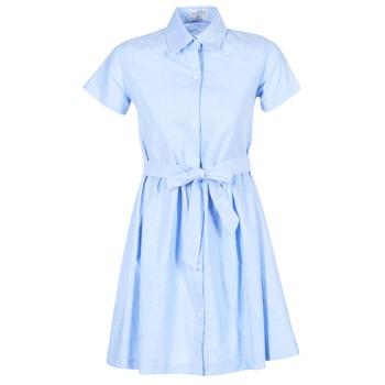 material Women Short Dresses Compania Fantastica EBLEUETE Blue / SKY