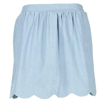 material Women Skirts Compania Fantastica EFESTONA Blue / Sky