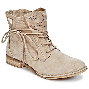 Shoes Women Mid boots Bugatti REGATE Beige