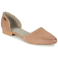 Shoes Women Ballerinas Bugatti GANOLETE Taupe