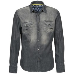 material Men long-sleeved shirts Meltin'pot CAREY Grey