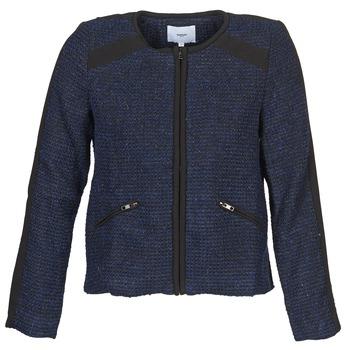 material Women Jackets / Blazers Suncoo DANAELLE Blue