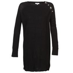 material Women Short Dresses Suncoo CHARLIE Black