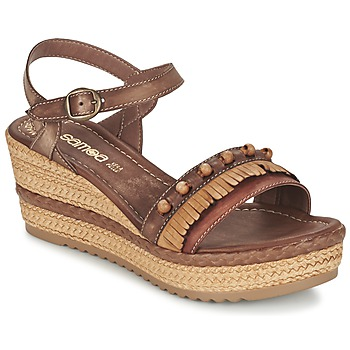 Shoes Women Sandals Samoa MOLAY Brown