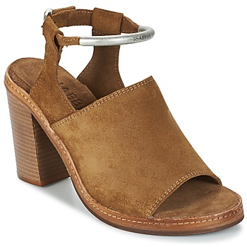 Shoes Women Sandals Shabbies MARZIO Brown