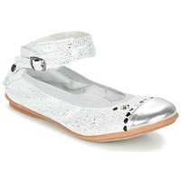 Shoes Girl Ballerinas Ikks EMILY Silver