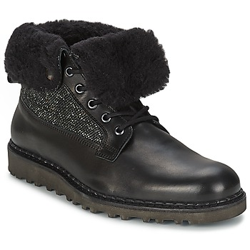 Shoes Men Mid boots Nobrand STREET Black