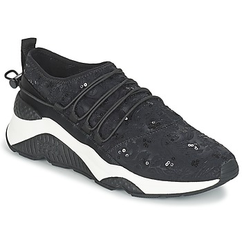 Shoes Women Low top trainers Ash MISS Black